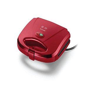 Sanduicheira Multilaser Minigril CE149 Vermelha 220v