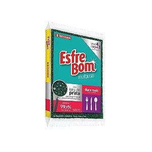 Esponja Bettanin Multiuso C/4 Esfrebom