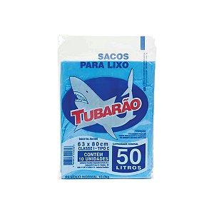 Saco de Lixo Tubarão 50L