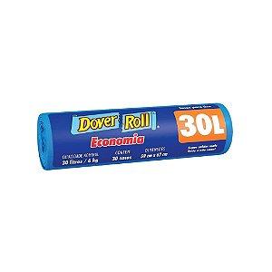 Saco de Lixo Dover Roll 30L com 30 Sacos