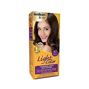 Coloração Salon Line Light Color 6.7 Chocolate