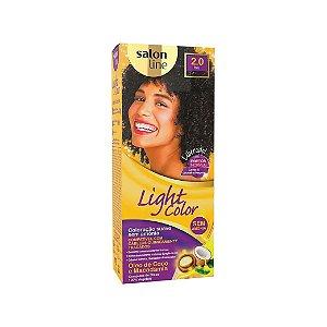 Coloração Salon Line Light Color 2.0 Preto