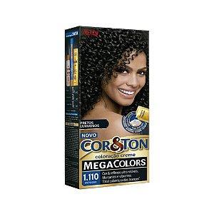Coloração Cor&Ton Mini Kit 1.110 Preto Onix