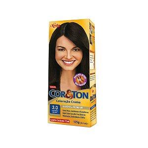 Coloração Cor&Ton Mini kit 3.0 Castanho Escuro