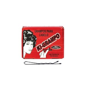 Grampo para Cabelo Ki-Grampo C/100 Preto