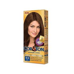 Coloração Cor&Ton Mini kit 6.0 Louro Escuro