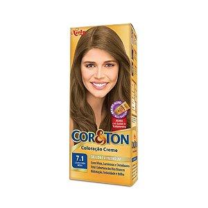 Coloração Cor&Ton Mini kit 7.1 Louro Cinza