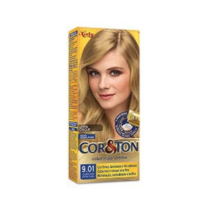 Coloração Cor&Ton Mini kit 9.01 Louro Cinza Extra