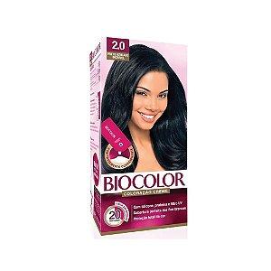 Coloração Biocolor Mini Kit Creme2.0 Preto Azulado