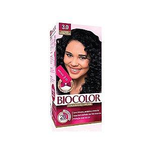 Coloração Biocolor Mini Kit Creme3.0 Castanho Escuro