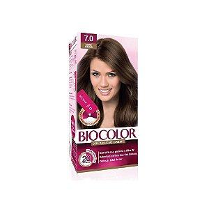 Coloração Biocolor Mini Kit Creme7.0 Louro