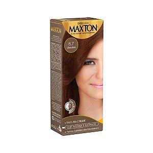 Tintura Creme Maxton Kit Prático 6.7 Chocolate