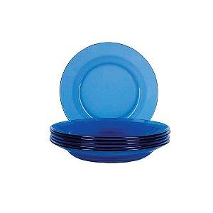 Prato Fundo Nadir Duralex Oceano Azul 6008