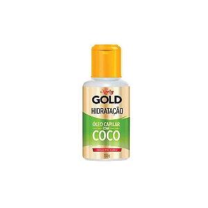 Óleo Capilar Niely Gold Hidratação Água de Coco 100ml