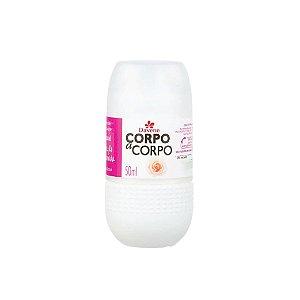 Desodorante Roll-On Davene Corpo a Corpo Natural 50ml