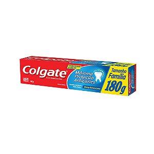 Creme Dental Colgate Máxima Proteção Anticárie 180g