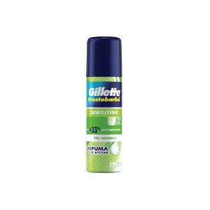 Espuma de Barbear Gillette Sensitive 56g