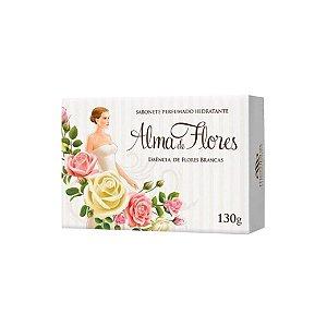 Sabonete Alma de Flores Essência Flores Brancas 130g