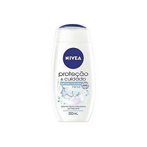 Sabonete Líquido Nivea Antibacteriano Fresh 250ml