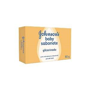 Sabonete Johnsons Baby Glicerinado 80g