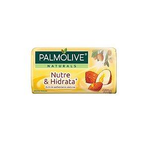Sabonete Palmolive Suave Nutre & Hidrata Óleo de Amêndoas e Lanolina 150g