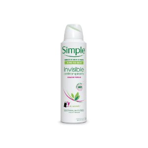 Desodorante Aerosol Simple Invisible 150ml