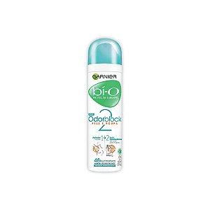 Desodorante Aerosol Garnier Bí-O Feminino Odorblock 2 Pele e Roupa 150ml