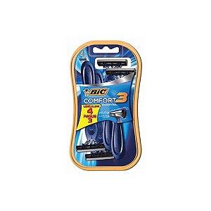 Aparelho de Barbear Bic Comfort3 Advance Normal 929849 Leve 4 Pague 3