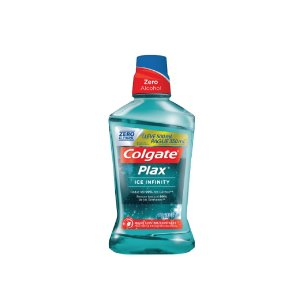 Enxaguante Bucal Colgate Plax Ice Infinity Leve 500 Pegue 350ml