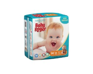 Fralda Descartável Baby Roger Jumbinho M C/18
