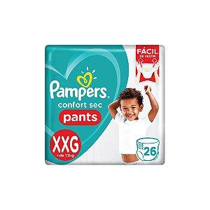 Fralda Descartável Pampers Confort Sec Pants XXG C/26