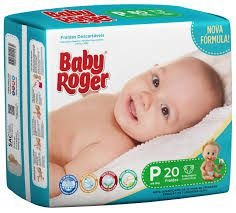 Fralda Descartável Baby Roger Jumbinho P C/20