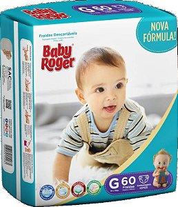 Fralda Descartável Baby Roger Hiper G C/60