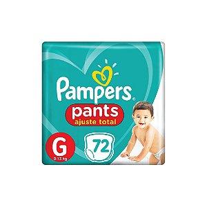 Fralda Descartável Pampers Pants G C/72