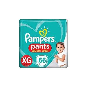 Fralda Descartável Pampers Pants XG C/66
