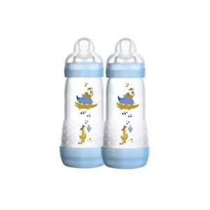 Kit Mamadeiras Mam First Bottle Boys com 2 Peças 260ml