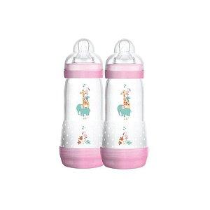Kit Mamadeiras Mam First Bottle Easy Start Girls com 2 Peças 320ml