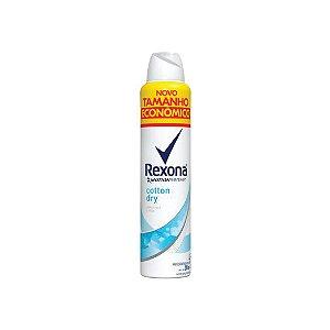 Desodorante Aerosol Rexona Cotton Dry Tamanho Econômico 200ml