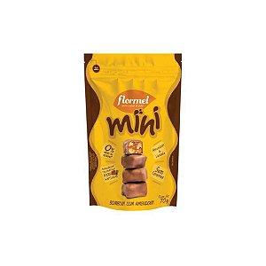 Mini Bombom Flormel Com Amendoim Zero Açúcar 60g