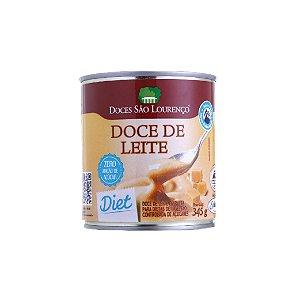 Doce De Leite Diet São Lourenço Puro Lata 345g