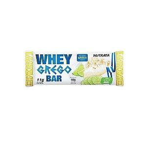 Barra de Proteína Nutrata Whey Grego Torta de Limão 40g