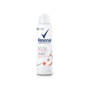 Desodorante Aerosol Rexona Stay Fresh Flores Brancas e Lichia 150ml