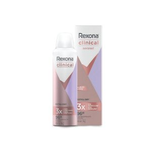 Desodorante Aerosol Rexona Clinical Extra Dry 150ml