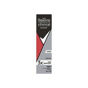 Desodorante Aerosol Rexona Men Clinical Sport 150ml