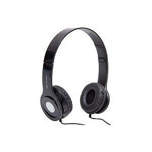Fone de Ouvido C3Tech Com Microfone PH-100BK - Preto