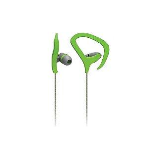 Fone de Ouvido Intra-Auricular Multilaser Fitness PH165 - Verde