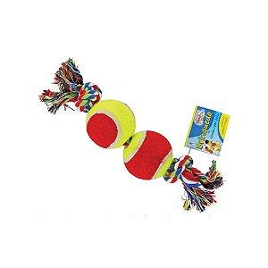 Brinquedo Para Cães Western Bola com Corda Pet-201