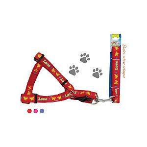 Guia Para Cães Western Com Peitoral Pet-206