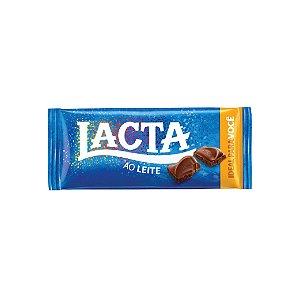 Barra de Chocolate Lacta Ao Leite 90g