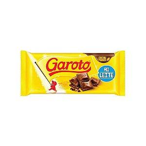 Barra de Chocolate Garoto ao Leite 90g